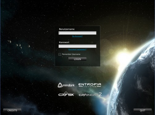 Entropia-Login-Screen