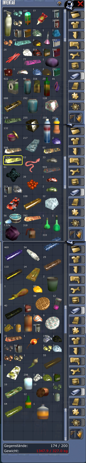 Loot on Arkadia Mining